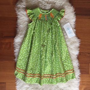 Other - NWT Smocked Seahorse Dress